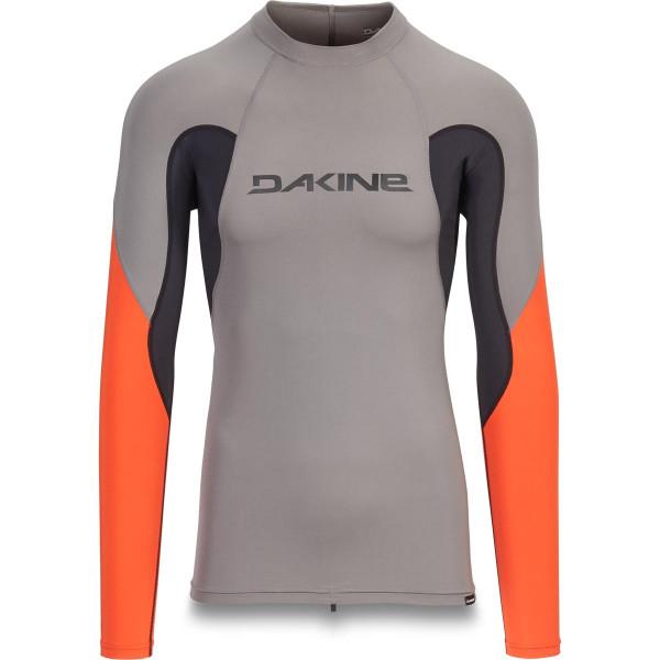 Dakine Heavy Duty Snug Fit L/S Herren Lycra Carbon
