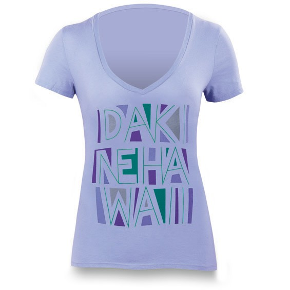 Dakine Tiki T-Shirt Periwinkle