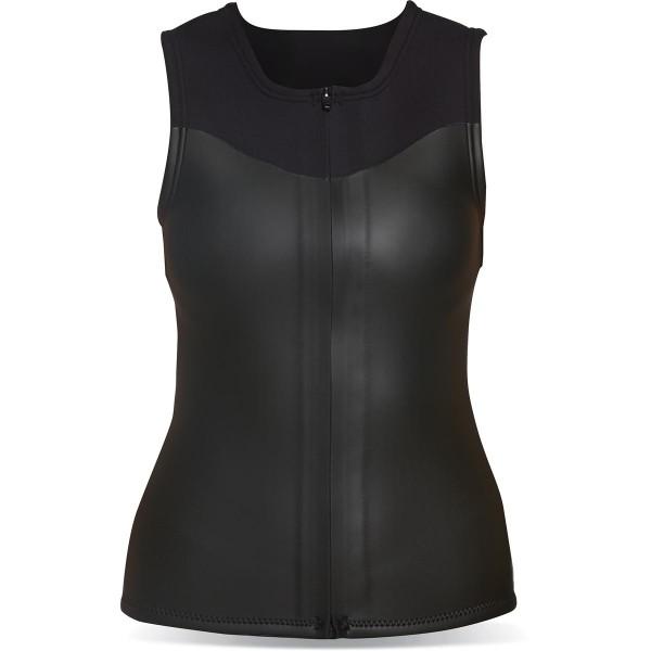 Dakine Womens 2mm Neo Vest ärmelloses Neopren Shirt Black