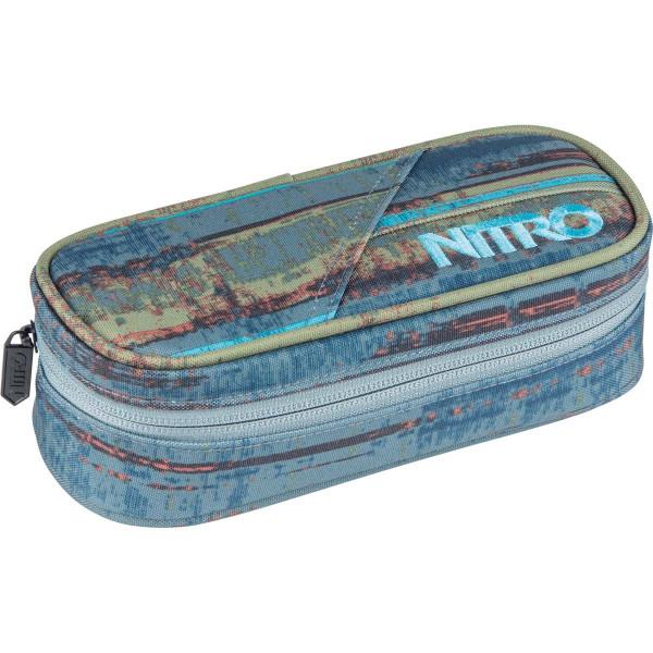Nitro Pencil Case Federmäppchen Frequency Blue