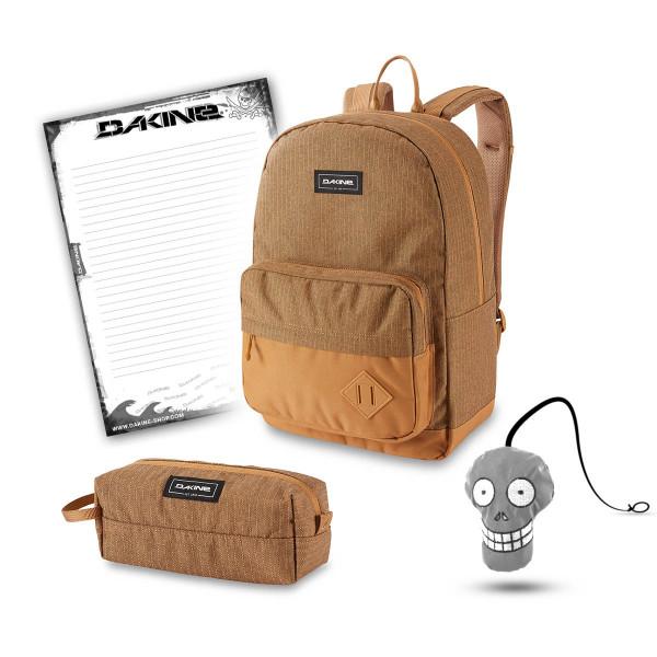 Dakine 365 Pack 30L + Accessory Case + Harry + Block Schulset Caramel