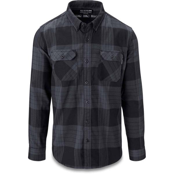 Dakine Reid Tech Flannel Herren Funktionshemd Black / Grey