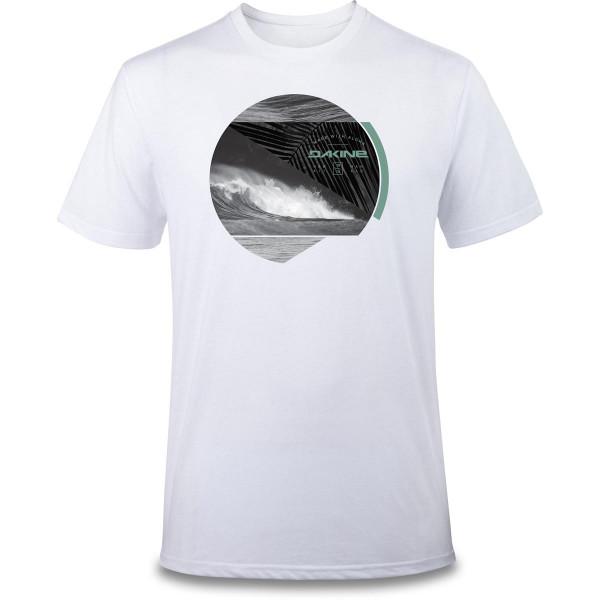 Dakine Crest Photo T Shirt Herren White