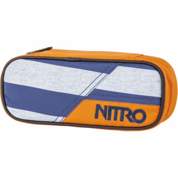 Nitro Pencil Case Federmäppchen Heather Stripe