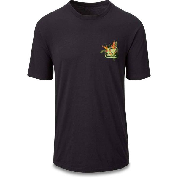 Dakine Jungle Palm Herren T-Shirt Washed Black