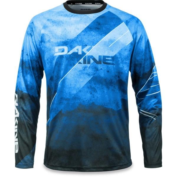 Dakine Thrillium L/S Jersey Herren Bike Jersey Midnight / Blue Rock
